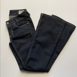 Diesel Louvely Stretch boot cut jeans size 25
